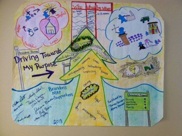 Student's MAP is the guidebook for each Project Search student's success.